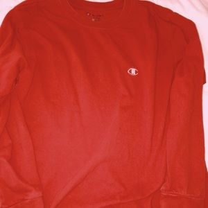 Tops - Red champion long sleeve